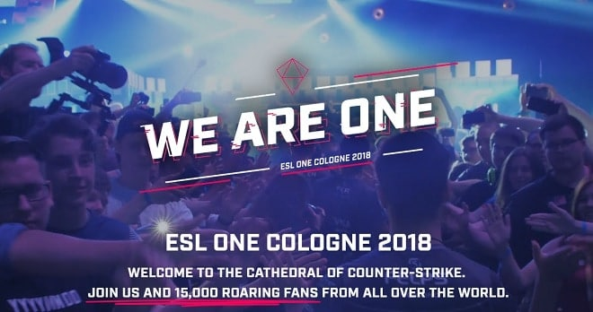 esl one cologne 2018 oddsjämförelse