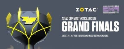zotac cup masters 2018 odds